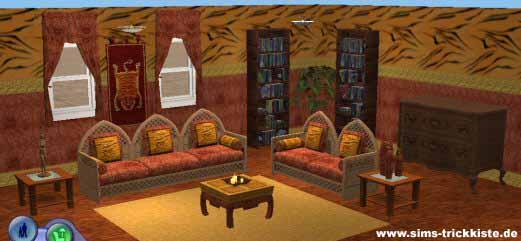 Afrika style wohnzimmer raum und m beldesign inspiration for Afrika stil wohnzimmer