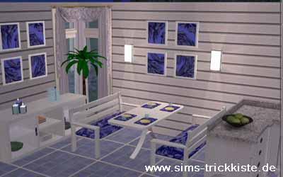 die sims trickkiste - sims 2, Esszimmer dekoo